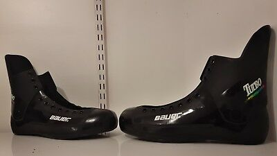 Bauer turbo quad roller skate shell/boot size 9,10,11,12.