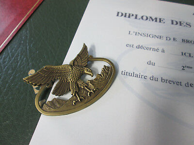 French Foreign Legion Etrangere 2 REP-badge  Patent BASM