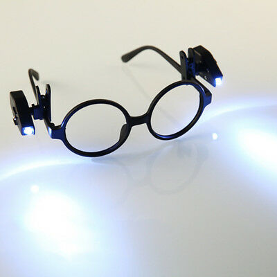 2pcs Flexible Book Reading Lights Night LED Light For Eyeglass Clip On Universal