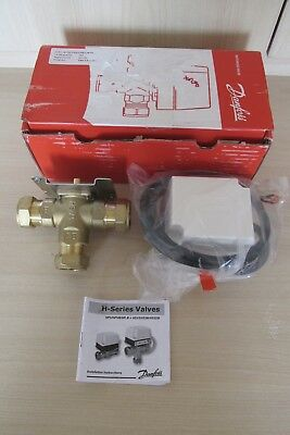 "Danfoss HS3 3 Port 22mm Mid Position Motorised Valve Complete 087N661300 ""NEW"""