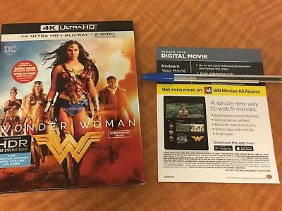 DC Comics Wonder Woman HD UV Digital Code Only