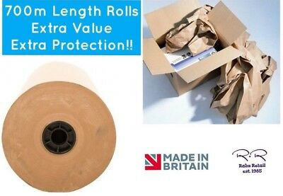 Brown Kraft Wrapping Paper Strong Packing Parcels Void Filler * Strong 75gsm