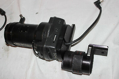 Sony HDVF-C30W LCD Viewfinder as pictured with custom mount and optics