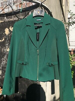 white house black market Women Fitted Jacket Size 6 Summer Or Spring