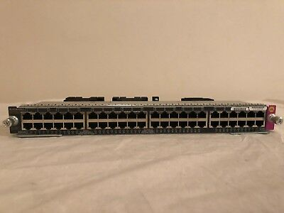 Cisco WS-X4748-UPOE+E Catalyst 4500E 48-Port UPOE 10/100/1000 Module Free Ship!