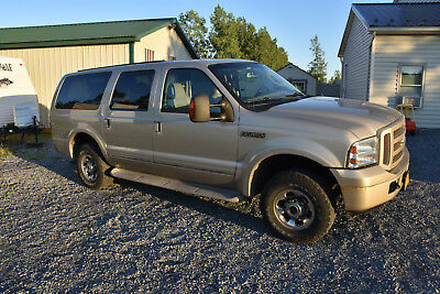 2005 Ford Excursion Limited 4WD - 6.8L V10 TRITON ENGINE BEIGE LEATHER 2005 Ford Excursion Limited 4WD - 6.8L V10