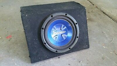 pioneer 12 subwoofer in ported box used