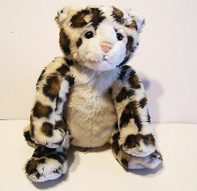 Build A Bear Baby Snow Leopard With Tag Plush Stuffed Animal