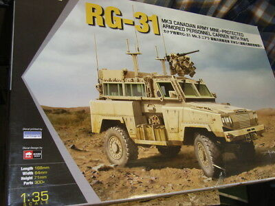 KINETIC 61010 RG-31 Mk.3 Canadian Army Mine-Protected Armored Vehicle