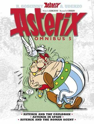 Asterix: Omnibus 5 Asterix and the Cauldron, Asterix in Spain, ... 9781444004908