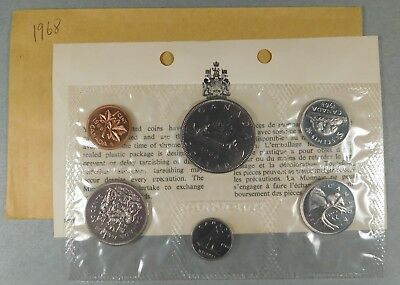 1968 Canadian Proof Like Set - Cent Thru Dollar -
