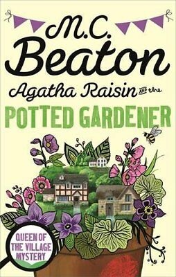 Agatha Raisin and the Potted Gardener, Beaton, M.C., New condition, Book