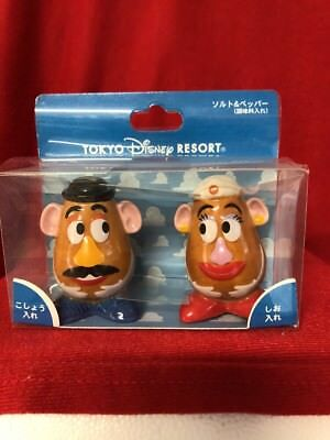 Toy Story Mr.& Mrs Potato Head Salt & Pepper Tokyo Disney Resort