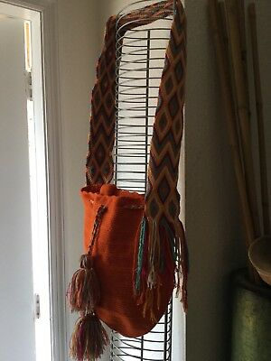 hand made wool purse/South American beuty
