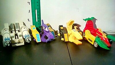 lot of 4 teen titans vehicles