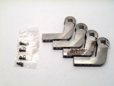SMC CKZN80-35-S6765 Angle Bracket Lot (4) for CKZ Clamp