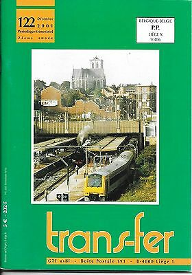 TRANSFER  n° 122  - décembre 2001     SNCB - NMBS - CFL - ICE