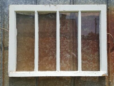 Antique Wood Window Picture Frame Pinterest Rustic Wall Decor 32X23 4 Pane