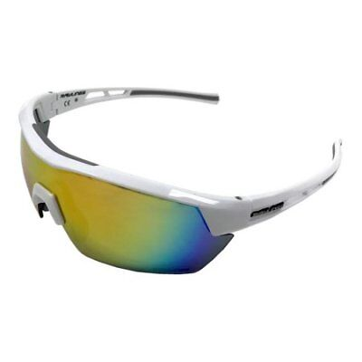Rawlings 10235354.QTS Men's Athletic Sunglasses 34 White/Orange Mirrored Lens