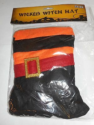 Lot Of 22 Halloween Wicked Witch Hats New In Package