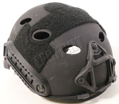 Ops-Core Fast Carbon Helmet w/ Skeleton Shroud - SMALL/MEDIUM Black 59-99-623