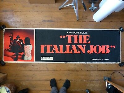 The Italian Job 1969 US banner poster