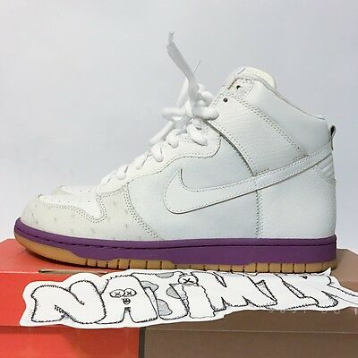 new style 65864 38994 2005 NIKE SUPREME Dunk High Deluxe MITA OSTRICH WHITE ATMOS Japan High top  HUF