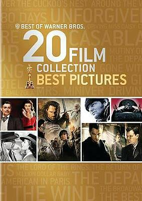 Best of Warner Bros.: 20 Film Collection - Best Pictures (DVD, 2013, 23-Disc...