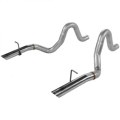 Exhaust Tail Pipe-Tailpipe Set FLOWMASTER 15820 fits 86-93 Ford Mustang 5.0L-V8