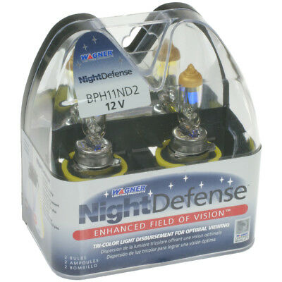 Headlight Bulb-Night Defense Front Wagner Lighting BPH11ND2