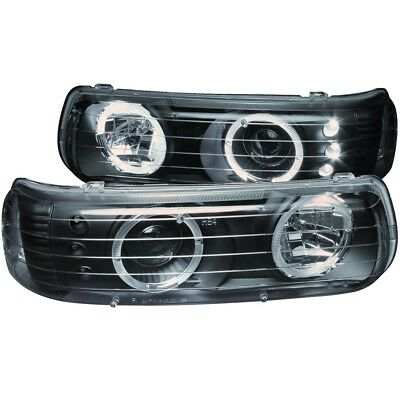 Headlight Assembly-Projector w/Halo Clear Lens LED Black fits 00-06 Tahoe