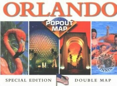 Orlando and Walt Disney World (USA PopOut Maps S.) by Map Group Sheet map Book