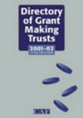 The Directory of Grant Making Trusts 2001-2002 by French, Alan Hardback Book The