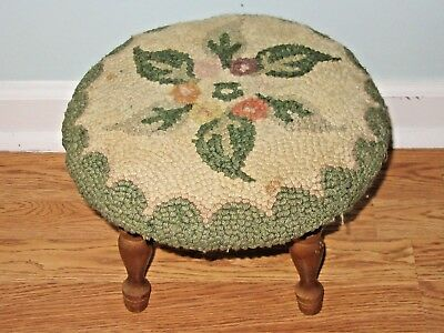 Nice Vintage Short Legged Foot Stool