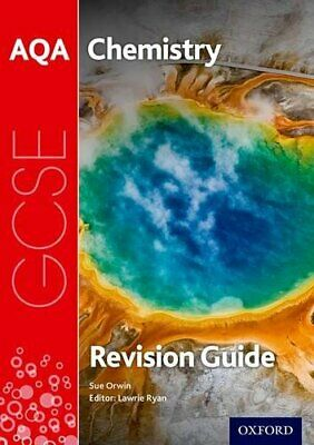 AQA GCSE Chemistry Revision Guide by Orwin, Sue Book The Cheap Fast Free Post