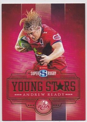 2017 Tap N Play Rugby Union Young Stars YS-08 Andrew Ready Reds