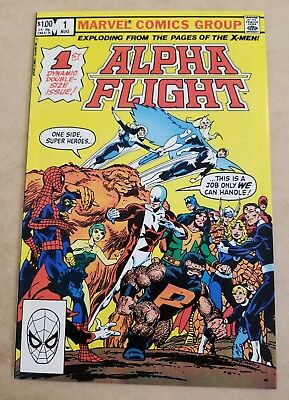 Alpha Flight #1 NM/NM+ HIGH GRADE 1ST APP PUCK & MARINA CGC IT John Byrne KEY