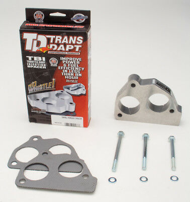 Fuel Injection Throttle Body Spacer Trans Dapt Performance 2533