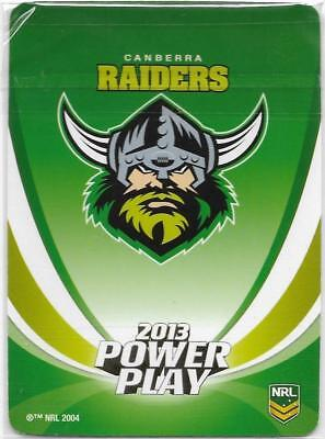 2013 NRL Power Play 19 Insert Cards