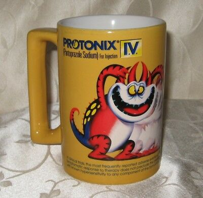 Protonix I.v.~Pantoprazole Sodium 40 Mg~Pharmaceutical~Medicine~Advertising Mug