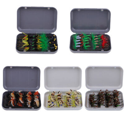 20pcs Butterfly Fishing Dry Flies Fishing Lures Stream Trout Fly Assortment