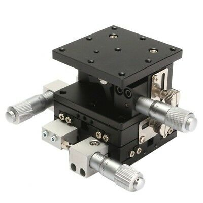 XYZ 3-Axis Linear Stage - Manual Displacement Adjustment (60mm x 60mm)