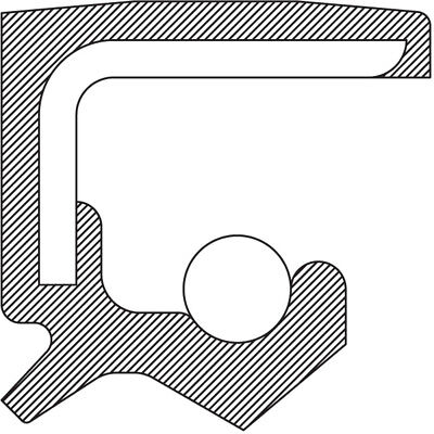 Manual Trans Output Shaft Seal Right/Rear NATIONAL 710677