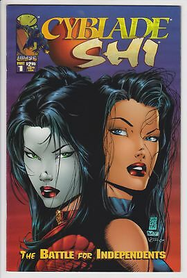 Cyblade / Shi: The Battle for Independents #1 (1995 Image) VF 1st App Witchblade