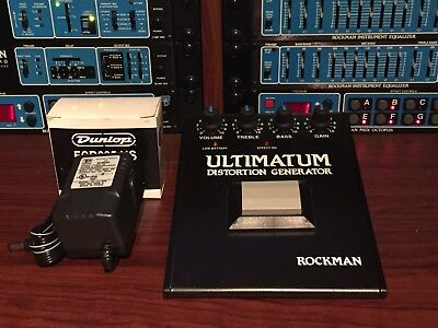 Scholz Rockman ULTIMATUM DISTORTION GENERATOR PEDAL  - 1 of 100 -  BUY IT NOW!!!