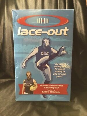 AFL Footy Training Coaching Guide Skills DVD Ball Game Lace-out