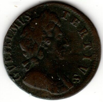 1696 William III Farthing