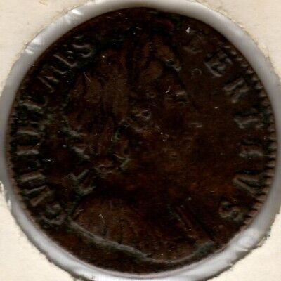 1697 William III Farthing