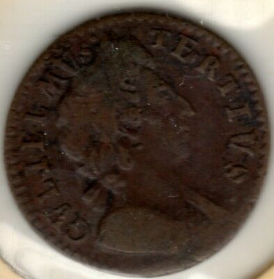 1700 William III Farthing