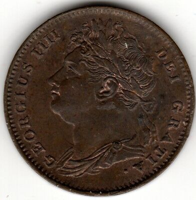 1826 George IV Farthing Uncirculated